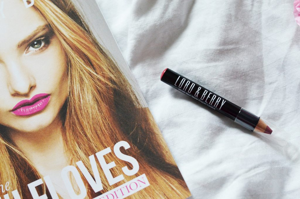 6. Lord & Berry Matte Lipstick Pencil | Sample Size
