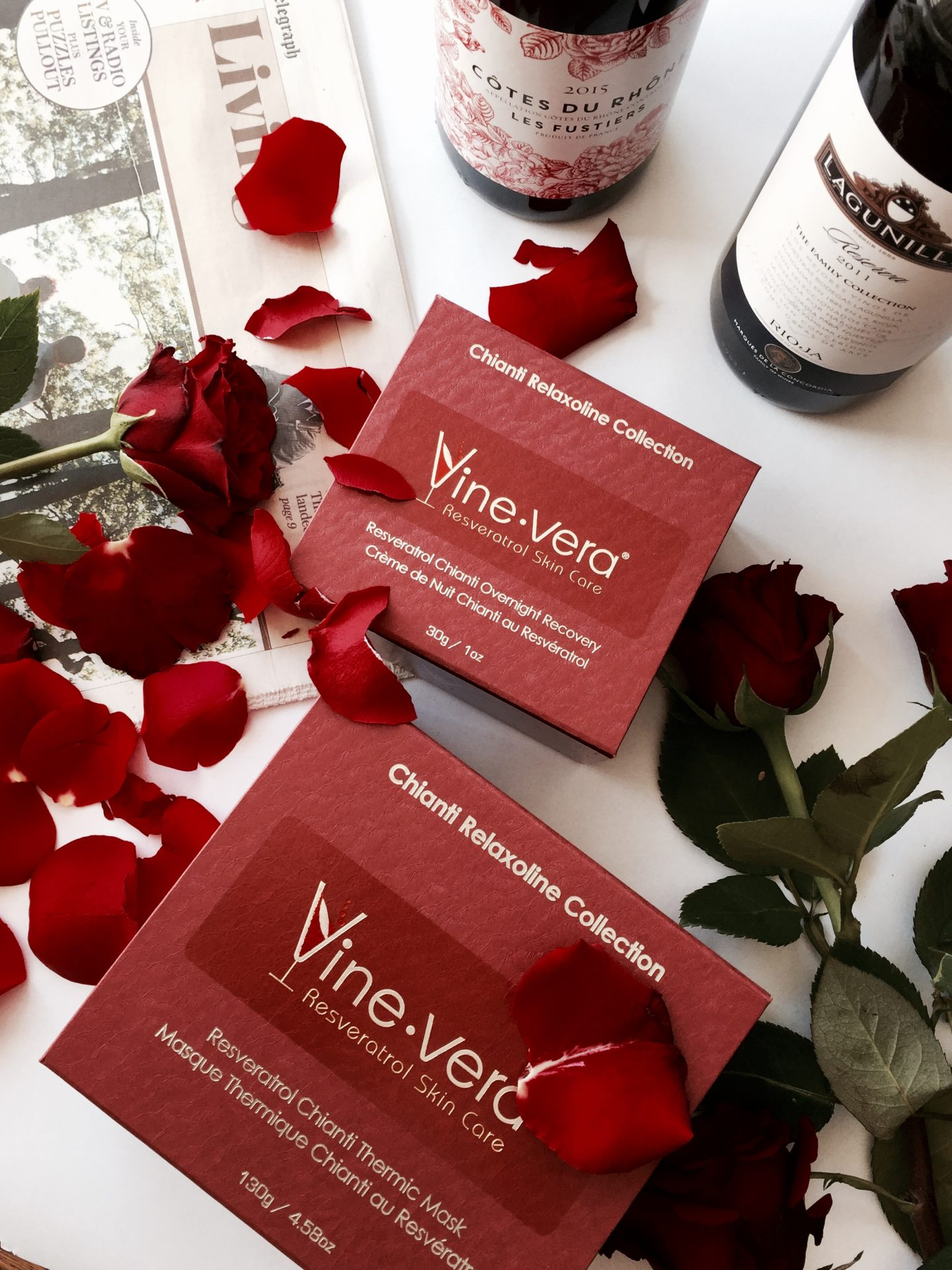 Skincare For Wine-Lovers: Vine Vera