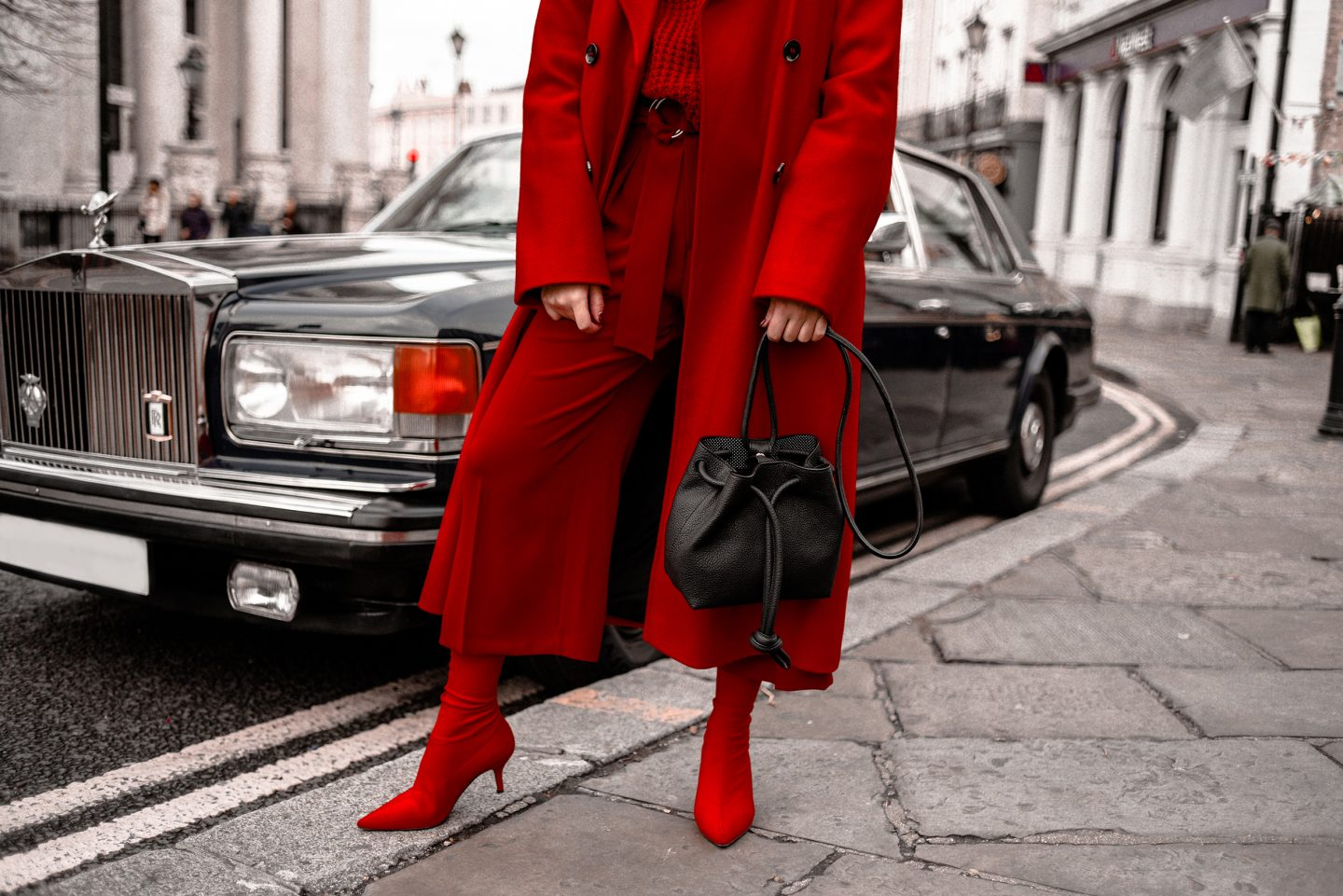 Modern Power Dressing: Total Red